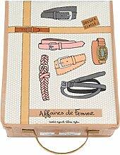 Faltbox mit Deckel Aufbewahrungsbox für Gürtel