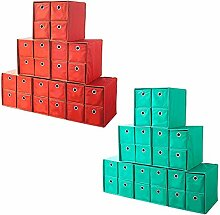 Faltbox Set 6 Faltboxen a´ 4 Schubfächer