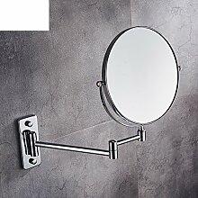 Falten Kosmetikspiegel/Größe und Schönheit Badezimmerspiegel/Wand-Spiegel/Eitelkeit Vergrößerungsspiegel-A