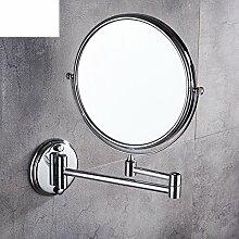 Falten Kosmetikspiegel/Größe und Schönheit Badezimmerspiegel/Wand-Spiegel/Eitelkeit Vergrößerungsspiegel-B