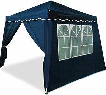 Faltpavillon 3 m x 3 m mit 2 Seitenwänden