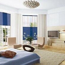 FALTROLLO EASYPLISSEE JALOUSIE SONNENSCHUTZ blau 75cm breit x 140cm lang inkl. Montagese