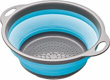 Faltsieb Colourworks KitchenCraft Farbe: Blau