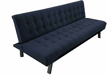 Faltsofa in Blau Webstoff