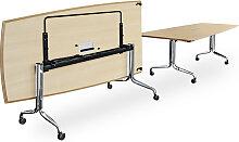 Falttisch Interstuhl Shinesty 320 cm Bootsform