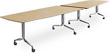 Falttisch ITS Shinesty 480 cm Bootsform Auswahl