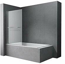 Faltwand Badewanne 90x140cm Badewannenaufsatz