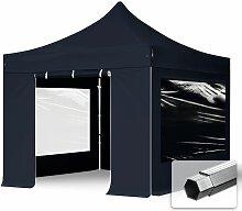 Faltzelt PROFESSIONAL 3x3 m mit Panoramafenster