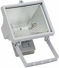 Famatel 4407G–Halogenstrahler 500W weiß