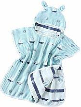 famesale Super weiches Baby Handtuch mit Kapuze