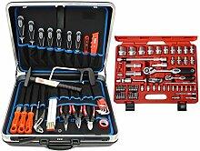 Famex 628-10 Werkzeug Komplettset High-End