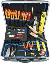 Famex 636-10 Elektriker Meister Werkzeugkoffer
