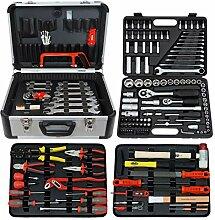 Famex 719-50 Mechaniker-Werkzeugkoffer-Komplettset