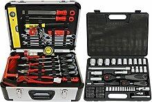 FAMEX 734-47 Alu Werkzeugkoffer mit Universal