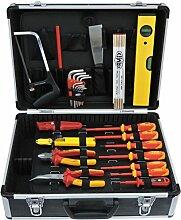 Famex 792-10 Elektriker Werkzeugkoffer Set