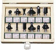 Famex 9788-12-60 Schaftfräsersatz 8mm 12 tlg.