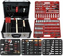 Famex Werkzeug 716-21 Mechaniker Werkzeugkoffer
