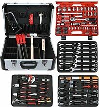 Famex Werkzeug 720-09 Mechaniker Werkzeugkoffer