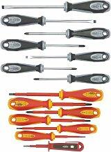 Famex Werkzeug 7747-14 Sparset Schraubendreher
