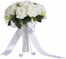 famibay Künstliche Rosen, 2 Stück, elegant,