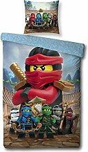 Familando Wende-Bettwäsche Set Lego Ninjago,