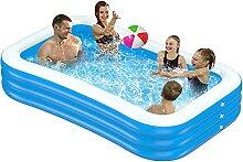 Familie Aufblasbarer Pool, 120 x 70 x 24Zoll