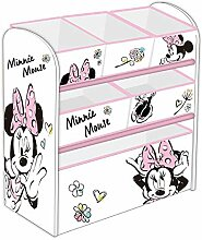 Familie24 Holz Spielzeugregal Minnie Maus o. Micky