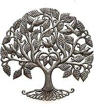 Familien-Liebesbaum, Gartenbaum, Metall, mit