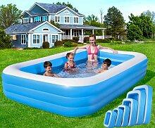 Familien-Schwimmbad Sommer aufblasbar Outdoor