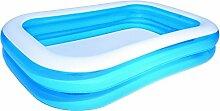 Familienpool Planschbecken Quick-Up-Pool von BESTWAY #54006, 269x175x51cm