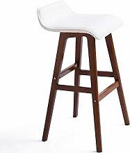family barstuhl Massivholz Bar Stuhl / Creative Bar Hocker / Continental Bar Hocker / Einfache Retro Bar Hocker / High Hocker barhocker aus holz ( Farbe : B , größe : 41*42.5*74cm )