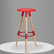 family barstuhl Massivholz Bar Stuhl / High Bar Bar Hocker / einfache Mode Bar Stuhl barhocker aus holz