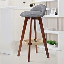 family barstuhl Solide Holz Bar Stuhl / Creative Hochstuhl / Continental Bar Stuhl / Rezeption Retro Bar Hocker / Simple High Hocker barhocker aus holz