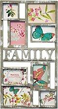 Family Bilderrahmen 8Bilder Collage-Ideal