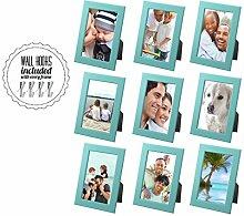 Family Bilderrahmen Collage mit Hardware [A + + +
