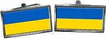Family Crests Ukraine Flagge Männer-Geschenk