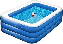 Family Pool Deluxe Blue, Leicht Aufbaubar Großer