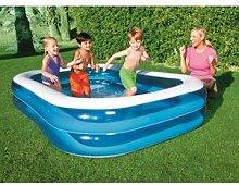 Family Pool Viereck 270 - blau/weiss, Größe INTERSPORT:NS