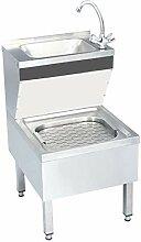FAMIROSA Gastro-Handwaschbecken mit Wasserhahn