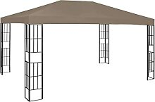 FAMIROSA Pavillon 4x3 m Taupe