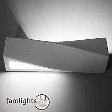famlights Alena Wandlampe aus Keramik in Weiß,