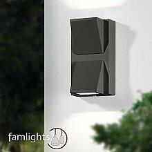 famlights LED Außenwandleuchte Sabine aus