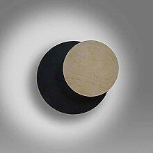 famlights Wandleuchte Niklas aus Metall und Holz,