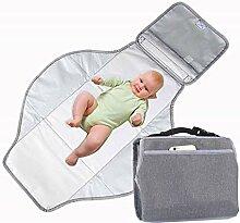 FAMLYJK Tragbare Wickelunterlage für Babys -