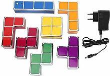 Famus DIY Puzzle stapelbar LED Licht Schreibtisch