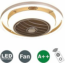Fan Deckenlampe Deckenventilator Mit LED