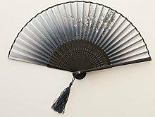 Fan Fan Tanz Sommer klassischen literarischen Männer und Frauen Chinesisch Wind Ventilator, I