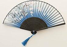Fan Fan Tanz Sommer klassischen literarischen Männer und Frauen Chinesisch Wind Ventilator, J