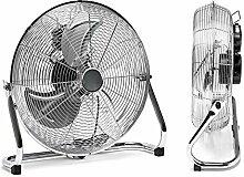 FAN Lüfter Ventilator Bodenventilator 45CM Silber