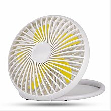 Fan Mini Desktop Fan Fliegende Untertasse Fan